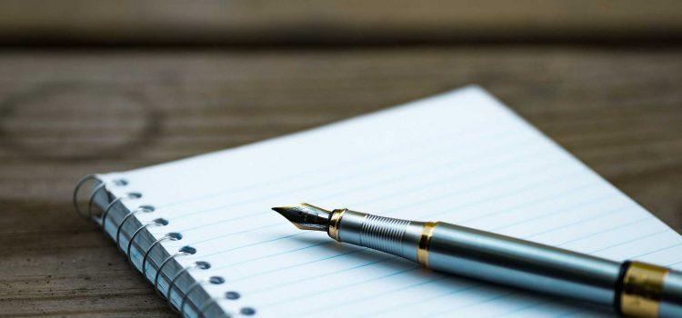 Un stylo publicitaire