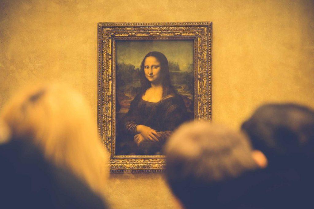 Tableau la Joconde Mona Lisa