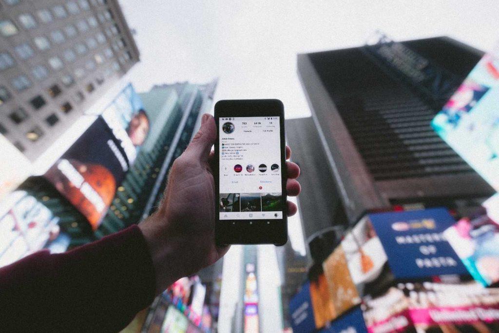 Un mobile en 5G