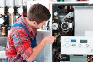 Comment vérifier la consommation de gaz de la chaudière?